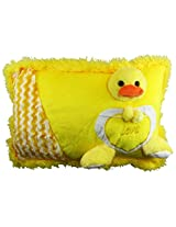 Tickles Duck Pillow Love Boy Girl Friend Gift