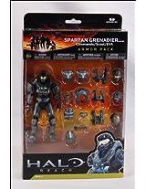 Halo Reach McFarlane Toys Deluxe Action Figure Boxed Set STEEL Spartan Grenadier