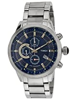 Timex E-Class Analog Blue Dial Men's Watch - TW000Y403