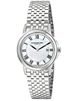 Raymond Weil Analogue White Dial Women's Watch - 5966-ST-00970