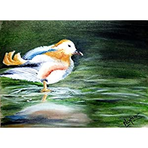 NUCreations Serenity - Original Painting - Oil Paint On Canvas