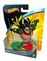 2015 Hot Wheels DC Universe Robin 1:64 Scale Collectible Die Cast Car