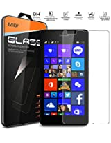 Nokia 540 Screen Protector, Nokia 540 Glass screen protector, E LV Nokia 540 ANTI-SHATTER Tempered Glass Screen Protector Scratch Free Ultra Clear HD Screen Guard for Nokia 540.