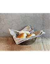 The Home Label Small Iron Wire Bread Basket