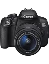 Canon EOS 700D 18MP Digital SLR Camera (Black) with 18-55 STM Lens, 4GB SD Card, Camera Bag
