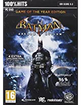 BATMAN: Arkham Asylum, PC Game of the Year