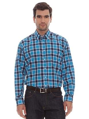 Marengo Camisa Cuadros (Azul)