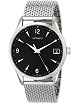 Movado Circa Stainless Steel Mesh Mens Watch 0606802