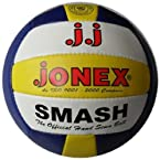 Jonex Smash Volleyball, Size 4 (Blue/White/Yellow)