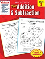 Scholastic Success With Addition & Subtraction Gr 3 By Scholastic Teaching Resources