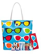 Estee Lauder 7-piece 2015 Skincare Makeup Gift Set with Tote Bag