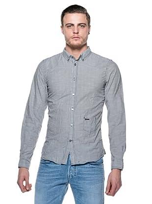 Diesel Camisa Sdany (Negro / Blanco)