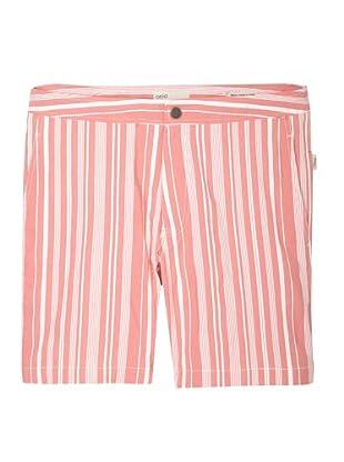Onia Men's Spanish Calder Swim Short (Red Stripe)