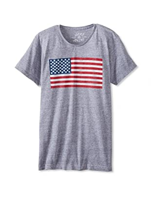 Jacks & Jokers Men's Flag King Tee (Grey)