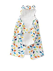 My Blankee Baby Hooded Towel with Ears (Helicopters White)