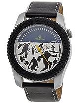 Maxima Analog White Dial Men's Watch - 26490LPGN