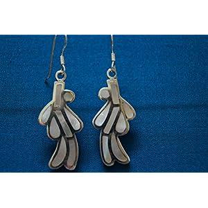 Gajgauri Silver Earring