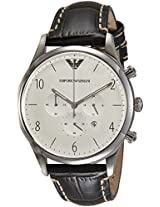 Emporio Armani End-of-season Analog Silver Dial Men's Watch - AR1861
