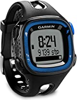 Garmin Forerunner 15 Fitness Watch with Heart Rate Monitor (Blue/Black)