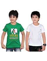 Dongli Boys Marvellous T-Shirt (Pack of 2)