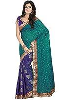 Elegance Fancy Saree-Multicolor-PRMC554-MV-Art Silk