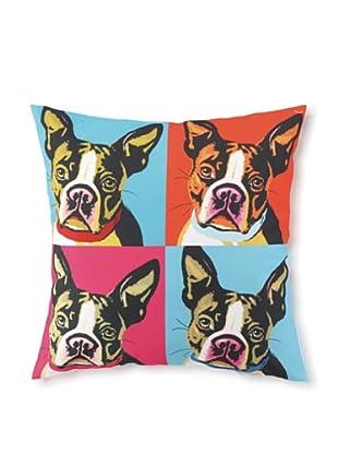 Woofhol Boston Pillow