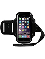 """BODY GLOVE 4.7"""" Cell Phone Case for Fits iPhone 6 - Retail Packaging - Black/Silver"""