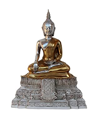 Asian Art Imports Sukothai Sitting Buddha