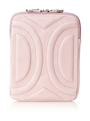 Allibelle Women's Trapunto Curved iPad Case (Thistle)