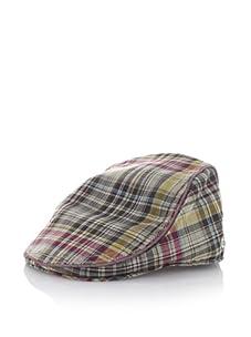 Ben Sherman Men's Madras Driver Hat (Khaki)