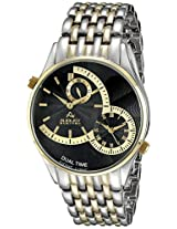 August Steiner Men's AS8141TTG Analog Display Swiss Quartz Two Tone Watch
