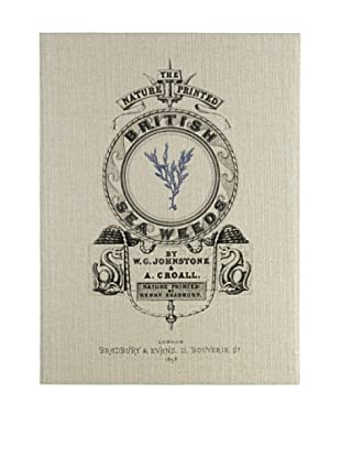 French Linen Collection Indigo British Seaweed Tapestry