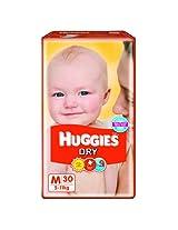 Huggies Dry Diapers Medium - 30 Pcs (5 - 11 Kgs)