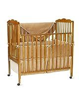 American Baby Company Organic Cotton 3-Piece Porta-Crib Set, Mocha