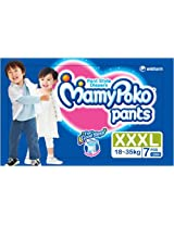 Mamy Poko Pant Style XXXL Size Diapers (7 Count)