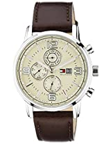 Tommy Hilfiger Analog Beige Dial Men's Watch - NTH1710337J