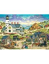 Masterpieces 31564 Bonnie White As The Sun Sets Puzzle, 500 Pieces