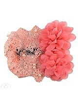 Peach Crest Headband