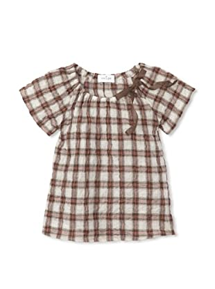 Neige Baby Frieda Blouse (Willow Plaid)