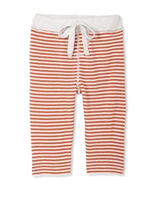 Neige Baby Harlon Striped Pants (Oatmeal/Rust)