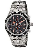 Titan Octane Analog Black Dial Men's Watch - 9466KM05J