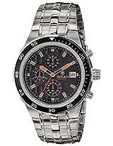 Titan Octane Analog Black Dial Men's Watch - 9466KM05J