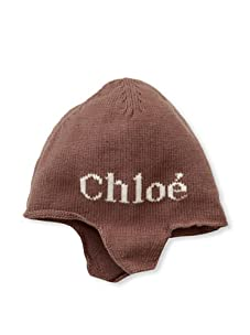 Chloe Girl's Ear Flap Hat (Chocolate)