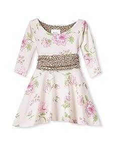 Mad Sky Girl's California Winter Dress (Lauren's Floral)
