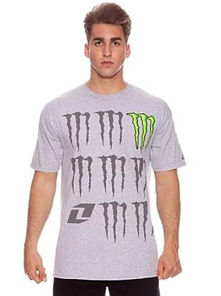Monster Energy Camiseta Gremlin (Gris)
