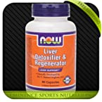 NOW Liver Detoxifier & Regenerator - 90 Capsules