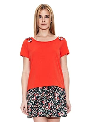 Pepe Jeans London Camiseta Blues (Rojo)