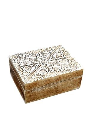 Mela Artisans Ivy Mango Wood Decorative Box