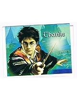 Harry Potter Prisoner of Azkaban Thank You Note Card and USPS Postage Stamp