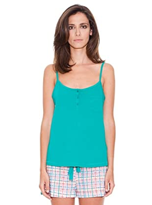 Women secret Camiseta Tirantes (Verde)